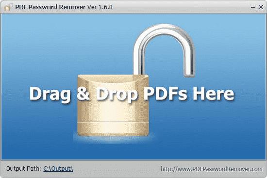 PDF Password Remover 1.6.0