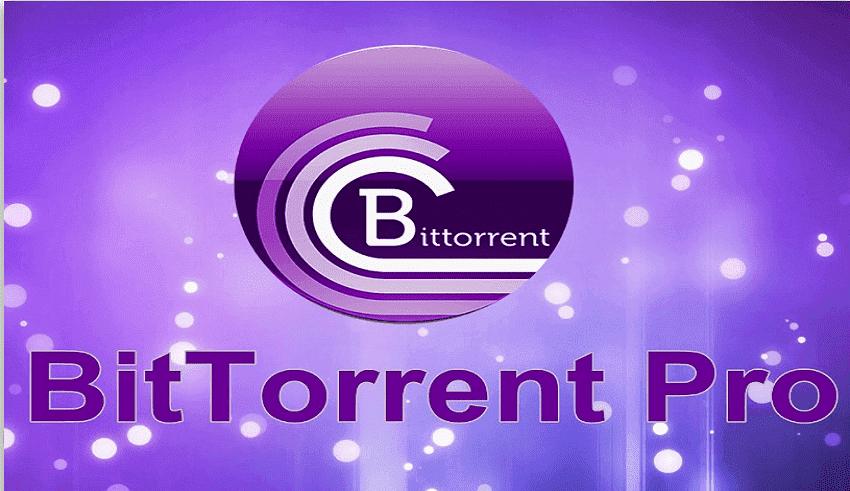 Phần mềm BitTorrentPro - tải files torrent