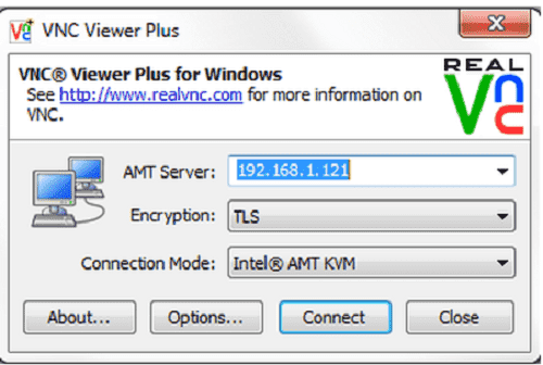 Phần mềm truy cập máy tính RealVNC Enterprise