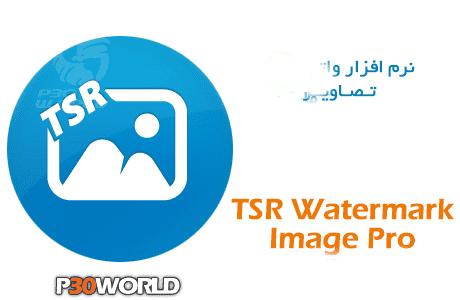 Phần mềm đóng dấu ảnh TSR Watermark Image Software