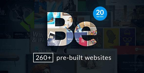 Bộ theme của BeTheme cho WordPress tuyệt đẹp