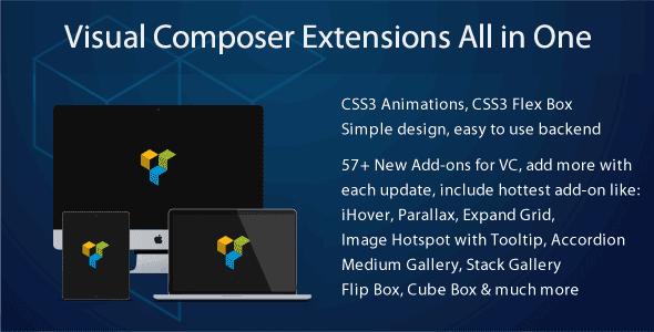 Extensions cho plugins Visual Composer v3.4.9.2 wordpress