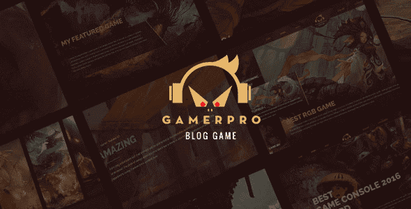 Themes Gamerpro wordpress cho các bạn làm web game