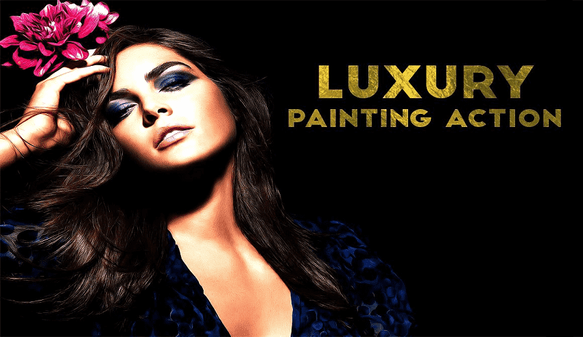 Chia sẻ Action Luxury Painting photoshop