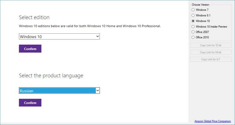 Phần mềm Tải Files ISO Microsoft Windows và Office