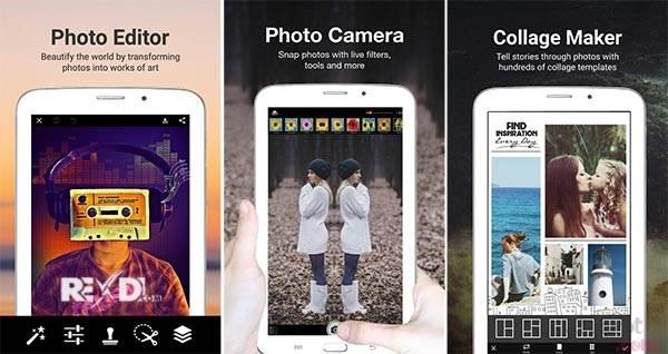 Phần mềm PicsArt Photo Studio 9.9.1