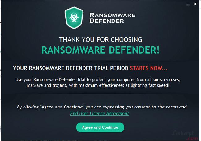 Phần mềm ShieldApps ransomware Defender