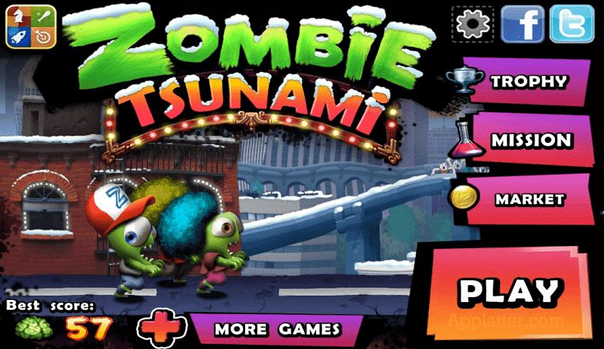 Games Zombie Tsunami mod cho Android