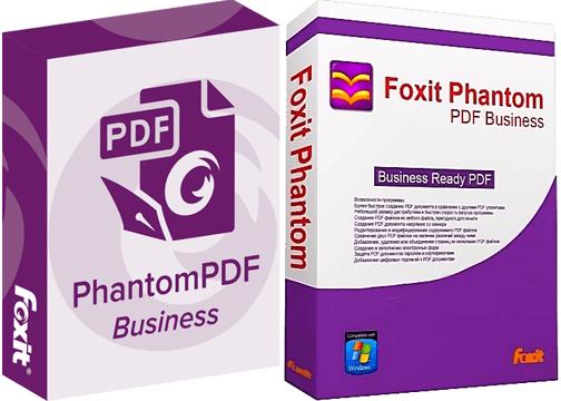 Phần mềm đọc files PDF Foxit PhantomPDF Business
