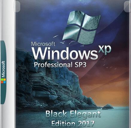 Bộ cài Windows XP Pro x86 - Black Elegant Edition 2017