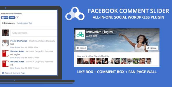 Plugins Facebook Comment Slider cho WordPress