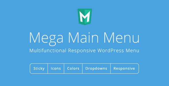 Plugins tạo Mega Main Menu cho WordPress