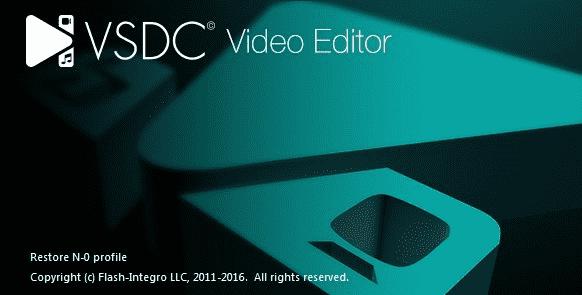 Phần mêm chỉnh sửa ảnh VSDC Video Editor Pro