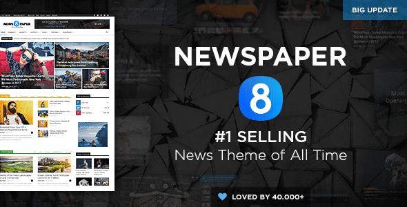 Themes tin tức, tạp chí Newspaper cho wordpress