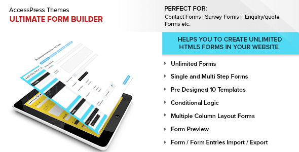 Tạo form với Plugin Ultimate Form Builder v1.1.4 cho wordpress