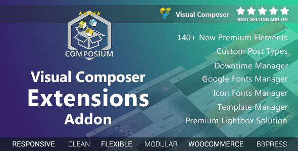 Plugins Visual Composer Extensions Addon cho wordpress