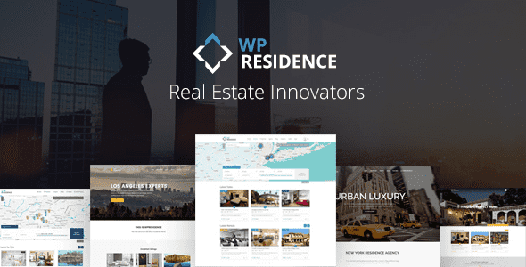 Theme WP Residence - Responsive Real Estate cho WordPress