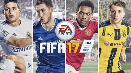 Games đá bóng FIFA 17 Full Version cho PC