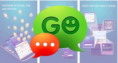 Ứng dụng GO SMS Pro Premium cho Andorid