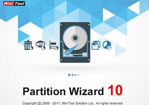 Phần mềm quản lý, chia ổ cứng với Partition Wizard Pro