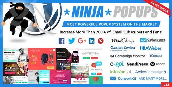 Plugin Ninja Popups cho WordPress