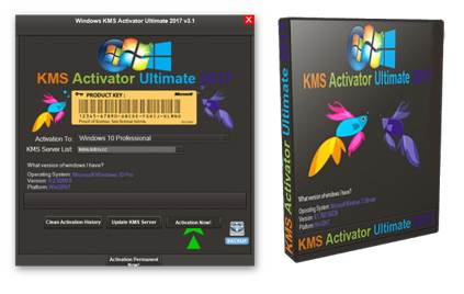 Phần mềm Windows KMS Activator Ultimate