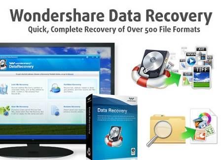 Khôi phục dữ diệu máy tính với Wondershare Data Recovery