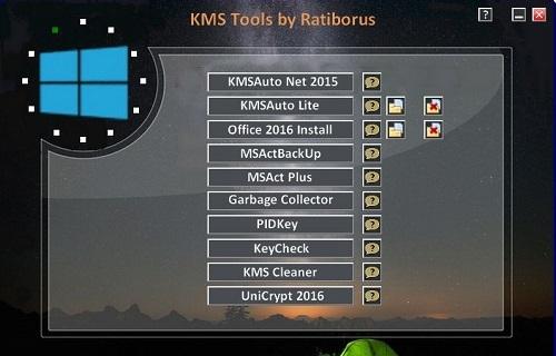 Phần mềm KMS Tools giúp kích hoạt windows, office
