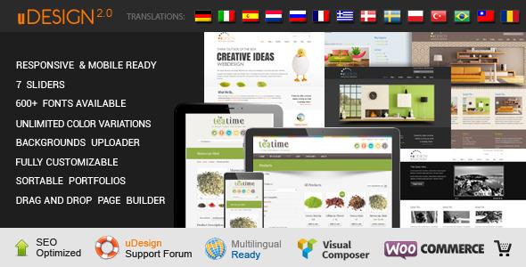 Theme U-Design – Responsive Corporate cho WordPress