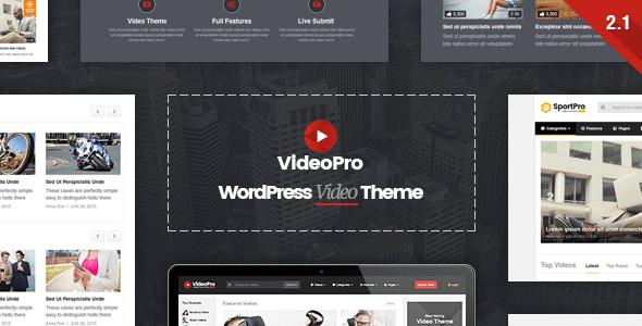 Theme VideoPro tuyệt đẹp dành cho cho WordPress