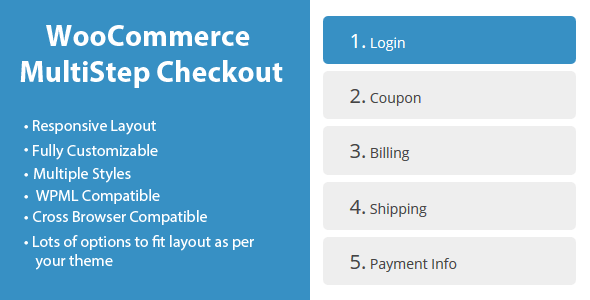Plugin WooCommerce MultiStep Checkout Wizard