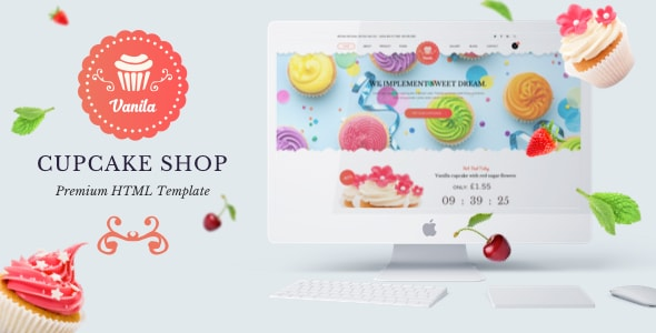 Template Bakery html
