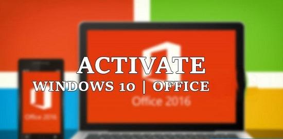 Bộ công cụ @ctivate Windows + Office Tất cả phiên bản