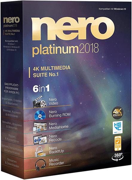 Phần mềm ghi đĩa Nero Platinum 2018