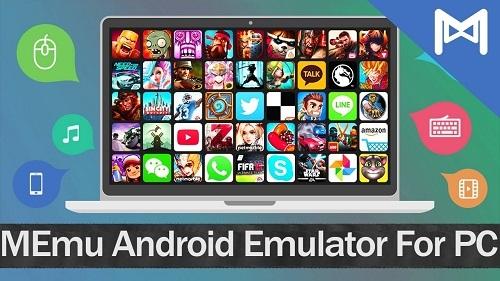 Phần mềm giả lập android MEmu Emulator