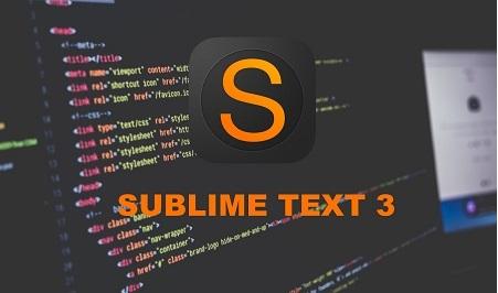 Phần mềm soạn thảo lập trình Sublime Text 3
