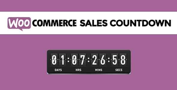 Plugin WooCommerce Sales Countdown