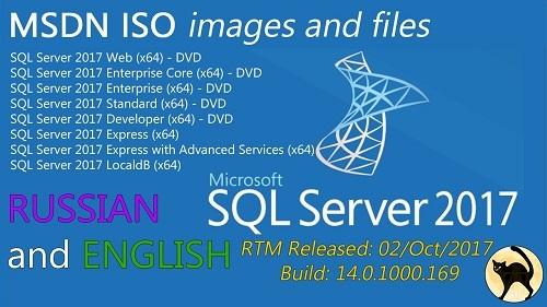 Microsoft SQL Server 2017 RTM - Quản trị cơ sở dữ liệu