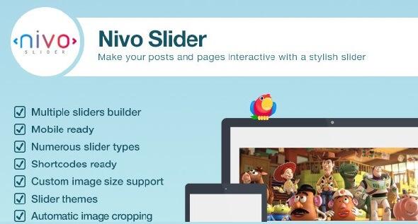 Plugin Nivo Slider - WordPress Image Slider
