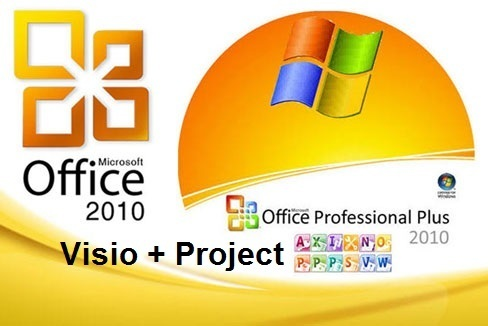 Microsoft Office 2010 Professional Plus + Visio Premium + Project Pro