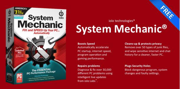 System Mechanic - Tối ưu hệ thống máy tính