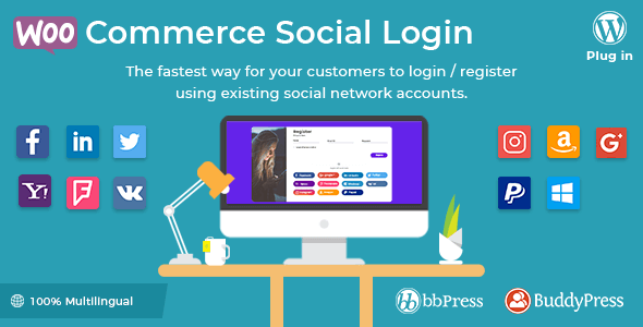 WooCommerce Social Login wordpress