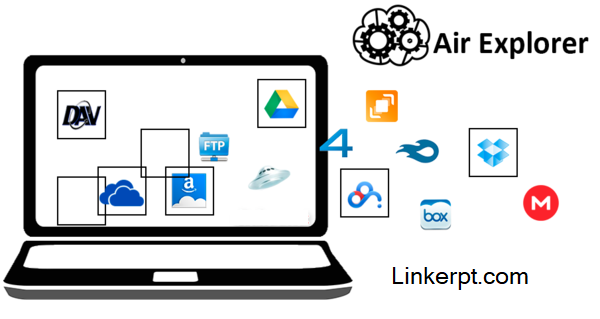 Phần mềm quản lí dịch vụ lưu trữ đám mây Air Explorer Pro
