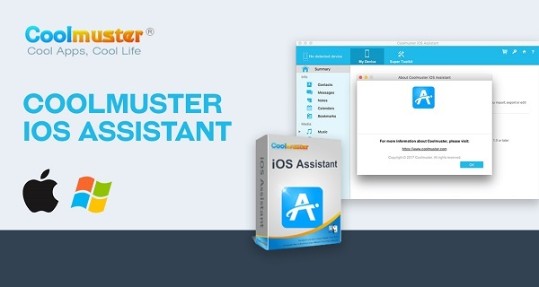 Phần mềm Coolmuster iOS Assistant