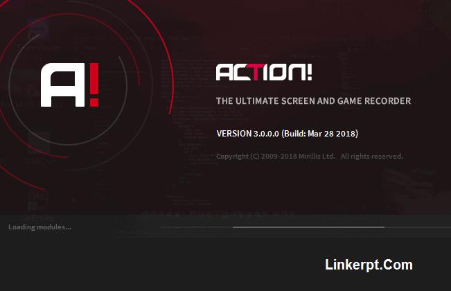 Phần mềm quay màn hình Mirillis Action
