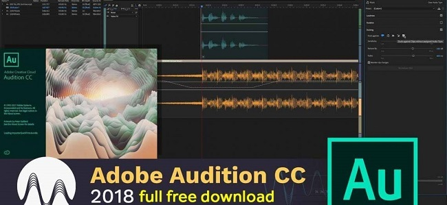 Phần mềm Adobe Audition CC 2018
