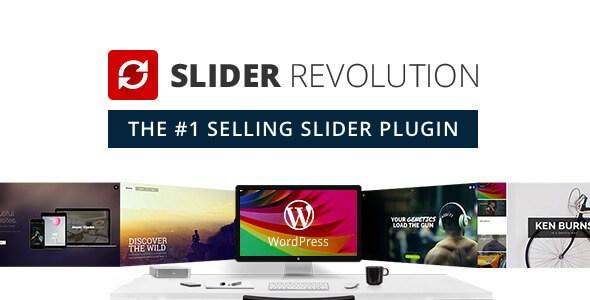 Plugins Slider Revolution wordpress