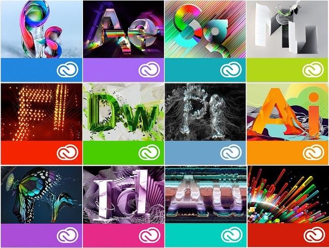 Trọn bộ phần mềm AIO Adobe Master Collection Cc 2018