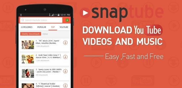 SnapTube - YouTube Downloader HD Video android