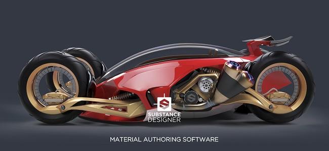 Phần mềm Allegorithmic Substance Designer